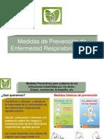 Medidas de Prevención de Enfermedad Respiratoria Aguda