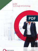 Gaining Efficiency Through HR Technology
