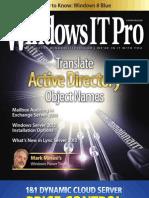 WindowsITPro Magazine 2013-05