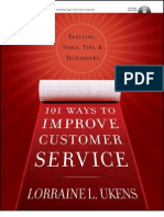 101 Ways to Improve Customer Service