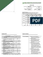 David's TOEFL Report