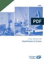 Load Classification of Cranes