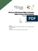 CC Guidance Documentation Addendum for ISA 2006