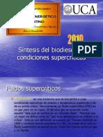Sintesis Del Biodiesel en Condiciones Supercriticas