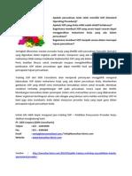 Training SOP - Standard Operating Procedure / Cara membuat Prosedur Kerja