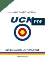 PRINCIPIOS UCN 2012-2016