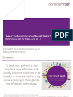 Nominet Trust National Assembly for Wales