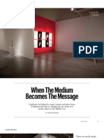 When The Medium Becomes The Message - T Emirates