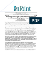 David Edmondson - Reducing Passenger Train Procurement Costs