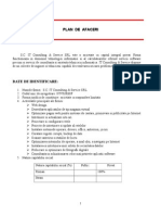Plan de Afaceri - SC IT Consulting & Service SRL
