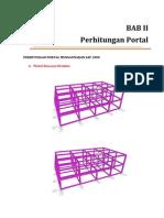 Perhitungan Portal Menggunakan Sap 2000 Lia