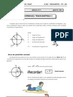 II BIM - 5to. Año - TRIG - Guía 5 - Circunferencia Trigonomé