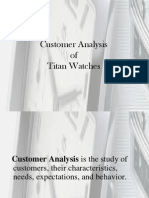 5. Case Study Titan Customer Analysis
