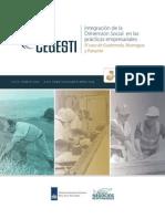 folleto Integración de la Dimensión Social