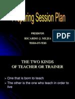 1. Session Plan - Presentation