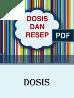 Dosis Dan Resep