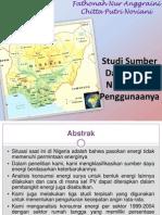 Persentasi Studi Sumber Daya Energi Nigeria dan Penggunaanya.pptx
