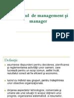 Curs 1 - Conceptul de management si manager.ppt