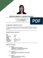 Updated Resume Dk