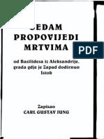 Carl Gustav Jung - Sedam Propovijedi Mrtvima