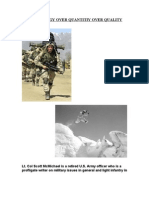 Light Infantry Standards