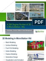 360 Degree Review of 3D in MicroStation