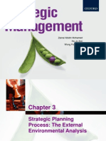 Chapter 3 Strategic Planning Process (the External Environme
