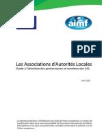 Guide pratique à l'attention des gestionnaires et membres des associations nationales d'autorités locales