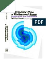 Jungk R - Brighter Than a Thousand Suns