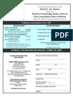 Scroll Order Form