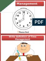 Time Management 2009