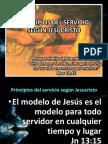 PRINCIPIOS DEL SERVICIO SEGÚN JESUCRISTO reunion servidores mayo 2013