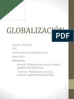 GLOBALIZACIÓNCARATULA