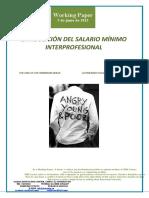 La abolición del Salario Mínimo Interprofesional