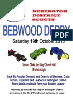 2013 Bebwood Poster