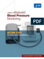 CDC Self Measured Blood Pressure Monitoring: