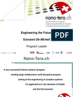 Nano-Tera - Engineering the Future