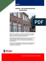 Bedrijfsverzamelgebouw Van Hallstraat Amsterdam