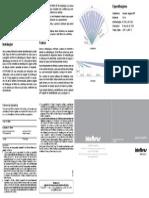 Manual Do Usuario IVP 2000 CF Sensor Infravermelho Passivo Com Fio