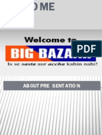 Big Bazaar Presentaion