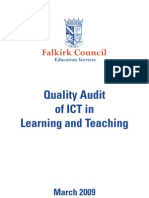 QA Report of ICT in Learning & Teaching (March 2009)