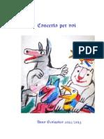 Biglietto Concerto Fine Anno 2012-2013