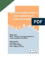 MANUAL DE NORMAS TÉCNICAS - FTC - Itabuna
