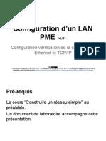 Exercice de configuration LAN PME