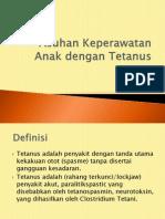 Asuhan Keperawatan Anak dengan Tetanus.pptx
