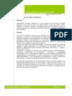 Diagnostico Plan de desarrollo Anexo 01 Educación
