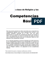 Clase Religion Competencias