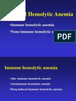 Hemolytic Anemia II