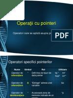 Operatii Cu Pointeri