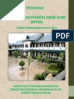 Pedoman PPDB 2013 untuk RA, Madrasah Ibtidaiyah, Madrasah Tsanawiyah dan Madrasah Aliyah